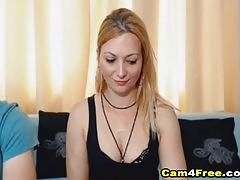 Hot blonde chick got fucked from behind