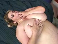 Bbw gets her fat pussy pounded