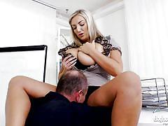 I will have to lick her pussy @ big girls need love