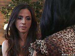 Ariella ferrera and breanna sparks in a porn drama