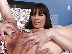 Dana gets her pussy licked and fingered