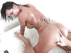 Franceska jaimes gets fucked in the ass hard