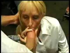 Blonde german woman