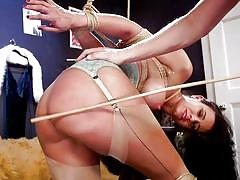 Penny gets fucked and spanked hard