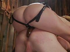 blonde, handjob, anal, femdom, strapon, babe, cock torture, country girl, pinching balls, divine bitches, kink, mona wales, pierce paris
