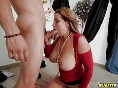 Busty hottie eva notty gets fucked really hard