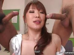 cumshot, hardcore, sexy, creampie, blowjob, brunette, threesome, teacher, busty, asian, japanese, reality, japan, wild, jav, uncensored, professor, avidol, subtitles