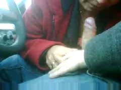 Maria  gricelda mamandomelo en el carro