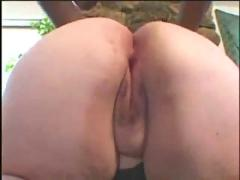 Amazing phat bottom mature bbw takes bbc