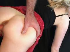 Stepsister creampied while talking on the phone, erin electra