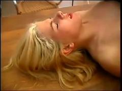 German sex on the kitchen table