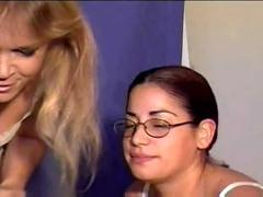 Two women farting