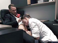 office sex, blowjob, at work, drill my hole, men.com, paul canon, kit cohen