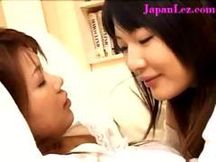Sexy cute japanese asian lesbian orgasm