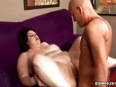 Bbw matalla fucked and jizzed over