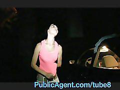Publicagent pov outdoor reality sex for cash