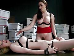 milf, bdsm, strapon, babe, russian, busty, vibrator, lezdom, dildo fuck, rope bondage, whipped ass, kink, chanel preston, nadya nabakova