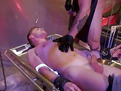 bdsm, torture, sex slave, whipping, blindfolded, masked, domination, blowjob, punishment, bound gods, kink men, trenton ducati, tom bentley