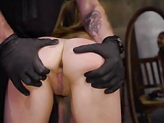 blonde, bdsm, babe, whipping, punishment, domination, long hair, pussy fingering, kink, kristen scott