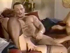 A 1980s shemale three way clip from?