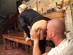 German slut thrashed