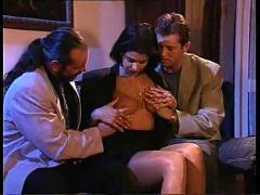 Hot girl with 3 guys
