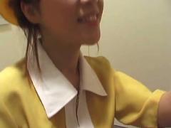 Elevator girl tekoki