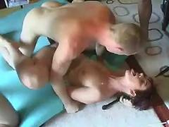 Mature double fuck creampie pussy cumshot gang bang