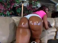 Two big booties chick fuck one lucky black guy