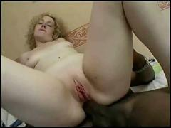 British blonde fucks a black guy part 3