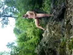 Boy german outdoor wood