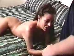 Felecia lesbian porn star giving a blow job