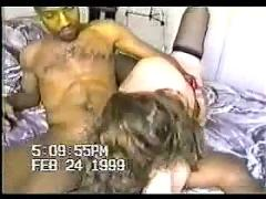 Naughty wife cheating with black guy