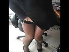 amateur, masturbation, stockings