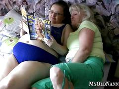 Gilf having fun with a fat brunette