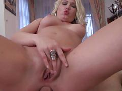 Big dick slams into the ass of hot blonde lucy heart