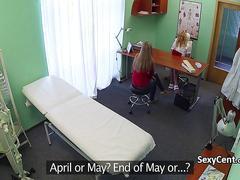 Lesbian nurse fuck her patient