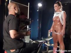 Romi rain behind the scenes