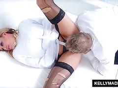 Busty kelly madison gets her pussy drilled