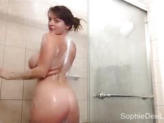 Big tit sophie dee home movie cam
