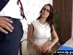Booby pornstar mckenzie lee office sex with big hard dick