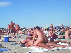 Compilation of beach sex