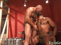 big cock, bear, muscle, hardcore, masturbation, mature