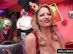 Kelly madison insane clown minge