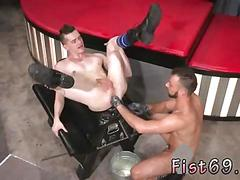 Fisting gay hardcore switching positions axel lays back and milks his pierced