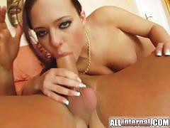 All internal mirella takes a creampie and drinks warm cum