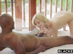 Blacked my boyfriend watches me scream with huge black cock