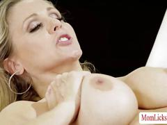 Julia ann offers her lesbian experiences with molly mae