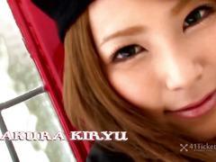 Japanese babe sakura kiryu -uncensored jav-