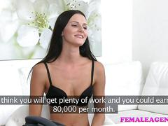 Femaleagent busty agent loves sexy models hairy wet pussy